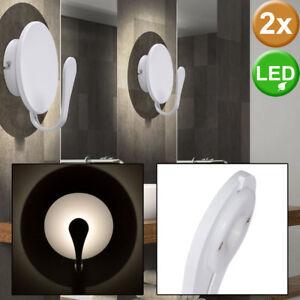 2er Set LED Design Wand Leuchte Treppen Haus Beleuchtung Wohn Zimmer Lampe rund - Siebenbach, Deutschland - 2er Set LED Design Wand Leuchte Treppen Haus Beleuchtung Wohn Zimmer Lampe rund - Siebenbach, Deutschland
