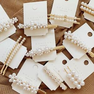 Imitiation-Pearl-Flower-Hairpins-Vintage-Long-Barrettes-Crystal-Hair-Clips-2019N