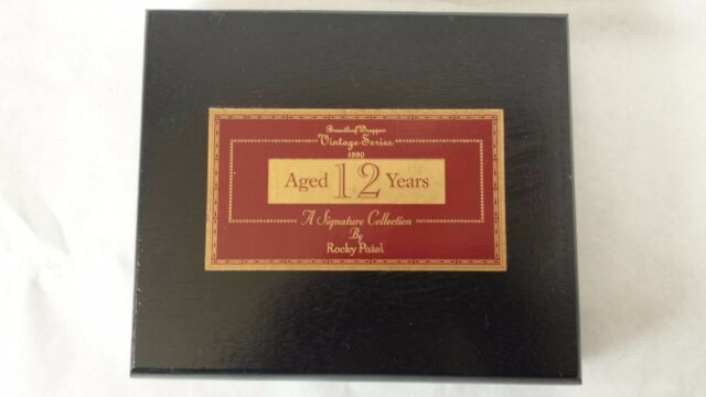ROCKY PATEL Vintage Series Aged 7 Years A Signature Collection Cigar Box EMPTY