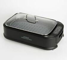 Power Smokeless Indoor Electric 1500W Grill w/ Griddle Plate Model K48367