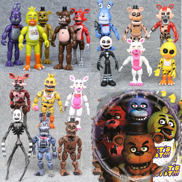 Fnaf Five Nights At Freddy S Bunnie Game Kids Toys Action Figures Gift Set