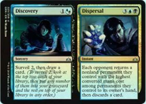 Foil Near Mint MTG Guilds of Ravnica Discovery //// Dispersal 223//259