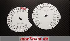 BMW K1200S Tachoscheiben Kmh Gauge Tacho dial face disk Ziffernblätter