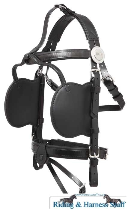 Zilco Driving Harness Complete Bridle - Pony, Cob, Full, XFull