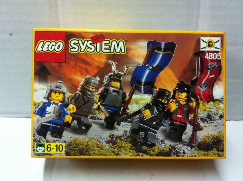 1999 Lego Ninja 4805 CAVALIERI NINJA MIB