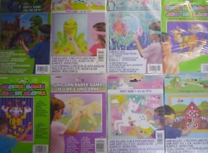 Pin-the-tail-on-the-Donkey-Kids-Party-Games-Unicorn-Princess-Pirate-amp-Others