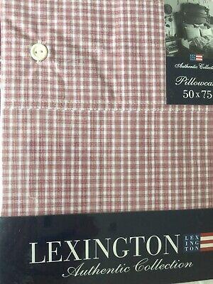 LEXINGTON Authentic Collection Bleu standard Taie d/'oreiller