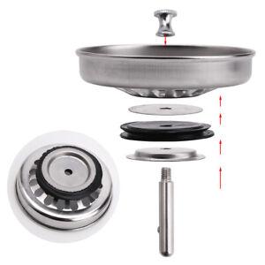 High Quality Kitchen Sink Strainer Waste Plug 80mm