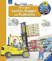 Wieso-Weshalb-Warum-38-Alles-ueber-Laster-Bagger-und-Buch-Zustand-gut