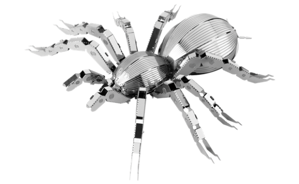Fascinations Metal Earth 3d Laser Cut Model Tarantula Mms072 For