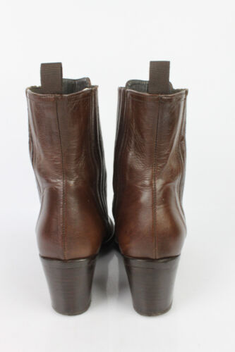 T Tbe Marron Zinda Cuir 37 Boots Bottines wFq1fZ4xw