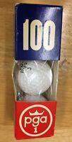 Rare Pga 3 Brand Golf Balls 100 Marking In 3 Ball Sleeve Package