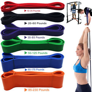 Resistance Exercise Heavy Duty Bands Tube Home Gym Fitness Premium Natural Latex