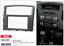 CARAV 08-005 2Din Marco Adaptador Kit Radio MITSUBISHI Pajero 4 Montero Shogun