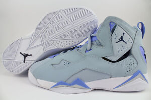 the best attitude 0d2d4 53b69 Image is loading NIKE-AIR-JORDAN-TRUE-FLIGHT-LIGHT-BABY-BLUE-