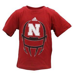 1ffdc9159 Image is loading Nebraska-Cornhuskers-Football-NCAA-Adidas-Infant-Toddler -Size-