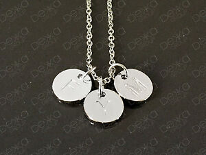 Silver-Initial-Stamped-Disc-Personalised-Letter-Alphabet-Necklace-Up-To-5-Discs