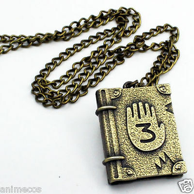 Gravity Falls Journal Number 1 Necklace Pendant Cosplay Collection