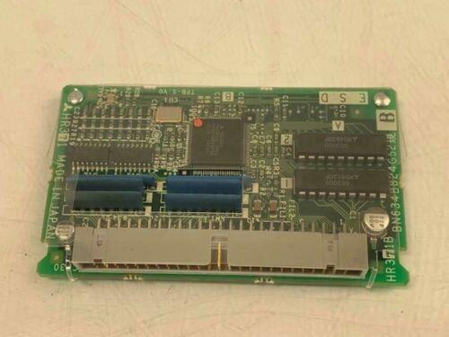Rev B Warranty BN634B824G52 Used Mitsubishi // Mazak HR371 // HR371BPC Board