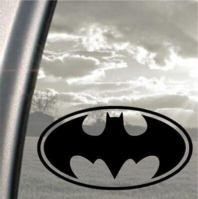 Wall Batman Logo Vinyl Decal Sticker Car Window White 4in