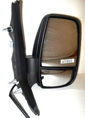 Transit Mk8 V363 Van 3//2014-/> Manual Wing Mirror Amber Indicator Drivers Side