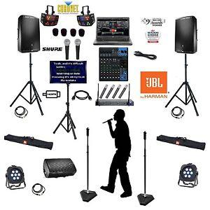 professional karaoke machine with monitor