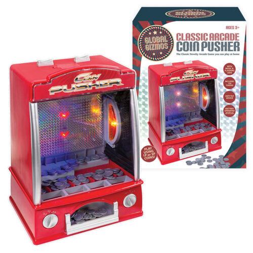 Jeu de pousseurs de pièces de monnaie classiques avec lumières et sons - Fun Party Standard