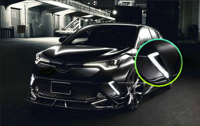 For Toyota CHR C-HR 2016-2018 White//Yellow LED DRL Daytime Running Lights 1 set