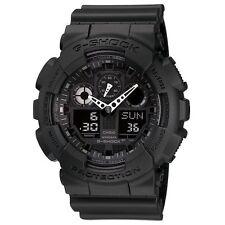 G-SHOCK GA100-1A1 Black Military Series Watch Casio Mens New Free Shipping