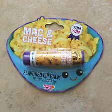 NEW Lotta Luv Picnic Pals Lip Balm - Mac & Cheese - Novelty Gift Weird Funky Fun