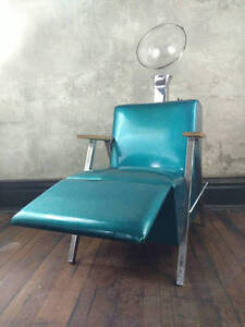 Image is loading VINTAGE-SPARKLY-Vinyl-Hood-Hair-Dryer-Beauty-Salon- : vintage hair dryer chair - Cheerinfomania.Com
