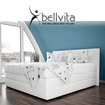 Diplomatisch Bellvita Boxspring Wasserbett Boxspringbett Optik Dual Mit Kopfteil Und Aufbau FüR Schnellen Versand