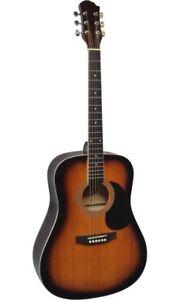 Guitare-Acoustique-Folk-4-4-Coloris-Sunburst