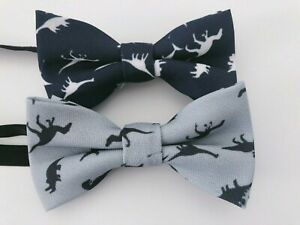 Kid-Children-Boy-Party-Dinosaur-Cute-Pre-tied-Neck-bow-tie-Necktie-bowtie