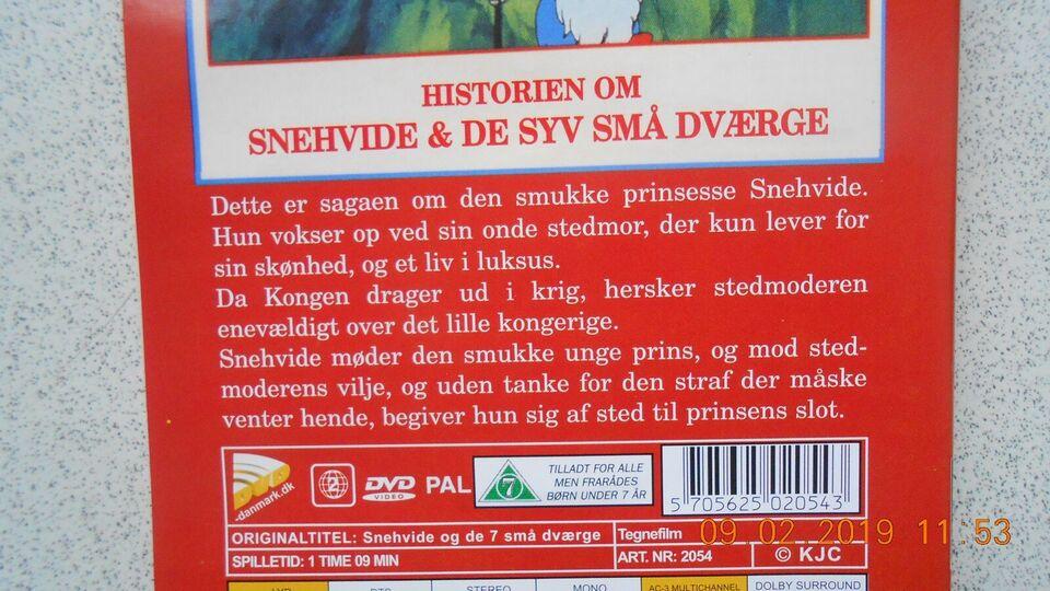 Historien om Snehvide og de syv (7 ) små dværge, instruktør