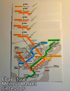 Subway Map Montreal.Montreal Metro Subway Map In Complete English Translation Pocket