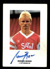 Michael Becker Autogrammkarte FSV Mainz 05 Original Signiert+159366