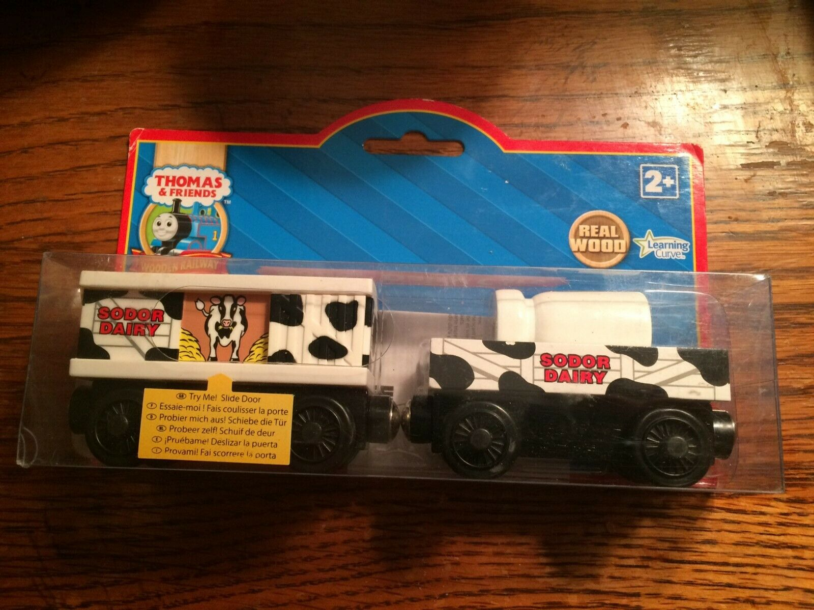 Sodor Dairy Cars for the Thomas Wooden Railway System New in Package