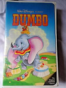 Walt Disney Black Diamond Classics VHS DUMBO Animated A4 - Burbank, California, United States - Walt Disney Black Diamond Classics VHS DUMBO Animated A4 - Burbank, California, United States