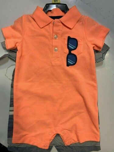 NEW Carter/'s Boys 2 Pack Short Sleeve Shirt
