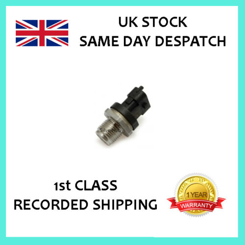 FOR IVECO DAILY 2.3 3.0 2002-2006 NEW FUEL RAIL HIGH PRESSURE SENSOR 0281002706