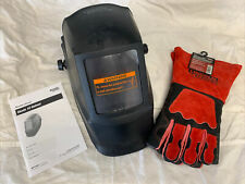 New Listinglincoln Electric Welding Helmet No 10 Lens 4 12 In X 5 14 Kh962 Gloves New