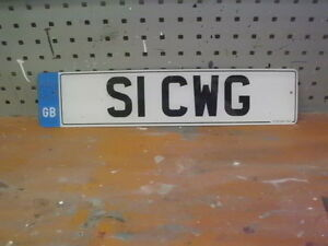 SI CWG CHERISHED NO PLATE - <span itemprop='availableAtOrFrom'>rowlands gill, Tyne and Wear, United Kingdom</span> - SI CWG CHERISHED NO PLATE - rowlands gill, Tyne and Wear, United Kingdom