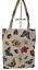 Indexbild 1 - Blumen Einkaufsbeutel Schmetterling Libelle Käfer Gobelin Shopper Einkaufstasche
