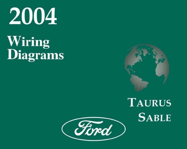 2004 Ford Taurus  Mercury Sable Wiring Diagrams Schematics