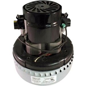 New Genuine Ametek Lamb 2 Stage Peripheral Bypass Vacuum Blower Motor 116336 01 Ebay