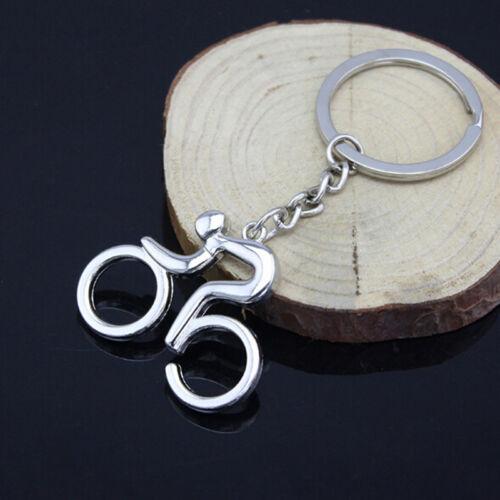 Novelty Bicycle Key Ring Bike Cycle Keyring Cyclist Gift Souvenir Gift LH