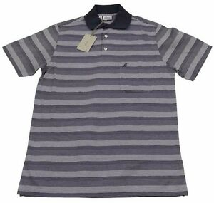 fe08cfa28b54 Brioni Mens Polo T Shirt Handmade SZ S EU46 UK 36 Cotton Made in ...