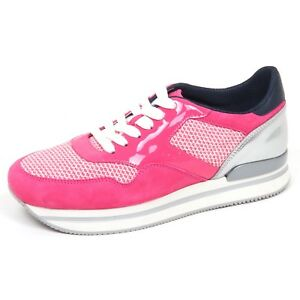 f3b2c4026940f Image is loading E2898-sneaker-donna-fucsia-HOGAN-H222-scarpe-shoe-