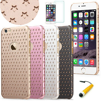 """Slim 0.6mm Twinkle Stars PC Hard Case Star Pattern for 4.7"""" iPhone 6 / 6S #44"""
